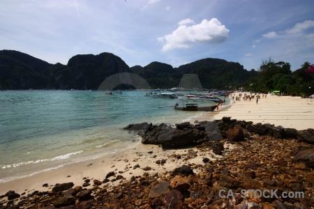 Asia lohdalum bay boat beach loh dalam.