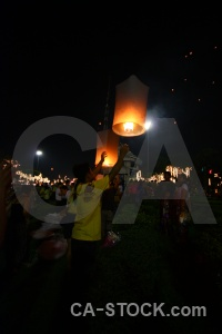 Asia loi krathong southeast flame lantern.