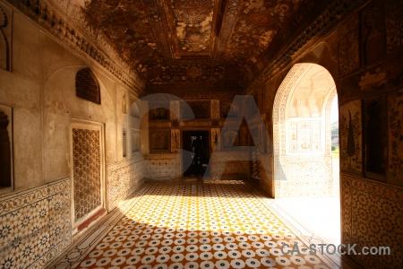 Asia mausoleum inside india mughal.
