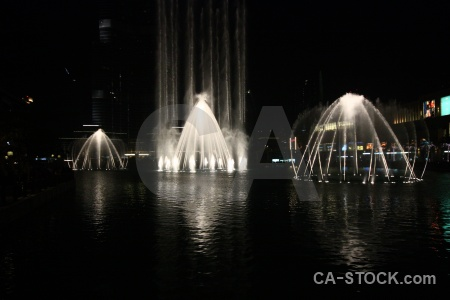 Asia middle east dubai pool fountain.