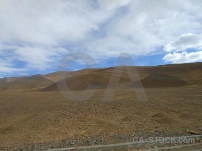 Asia mountain sky plateau himalayan.