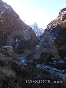 Asia mountain south asia valley river.