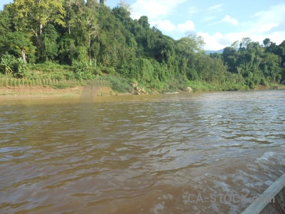 Asia nam khan water laos river.
