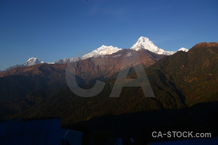 Asia nepal snow south asia annapurna.