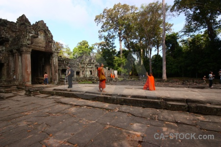 Asia person buddhism preah khan buddhist.