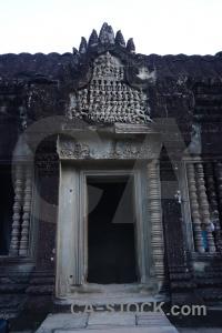 Asia preah pisnulok temple buddhist ruin.