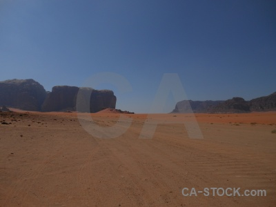 Asia rock middle east mountain wadi rum.