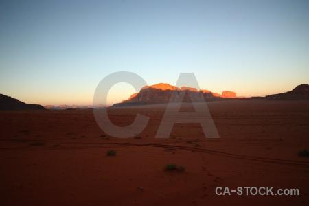 Asia sand desert bedouin cliff.
