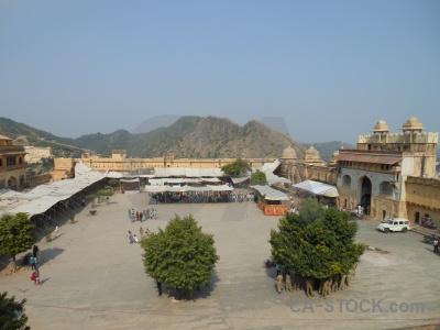 Asia sky india jaipur amer palace.
