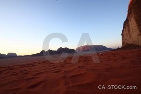 Asia sky landscape desert jordan.