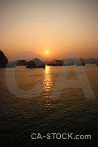 Asia southeast asia boat sun water.