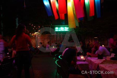 Asia southeast light restaurant inside.