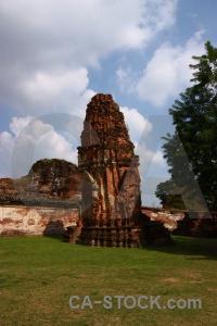 Asia southeast thailand brick buddhist.