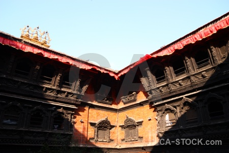 Asia temple durbar square south unesco.