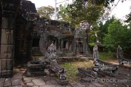 Asia temple siem reap sky lichen.