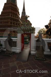 Asia thailand sky wat phra chettuphon wimon mangkhlaram ratchaworama buddhism.