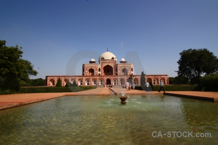 Asia tomb india humayuns water.