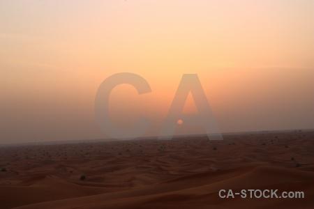 Asia uae western asia sun dune.