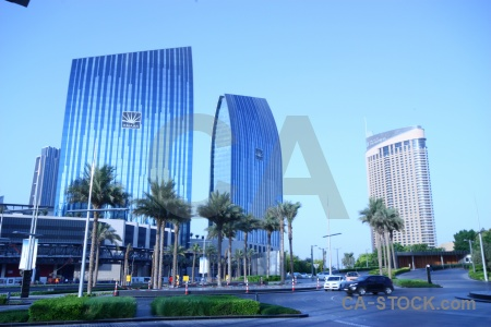 Asia uae western building glass.