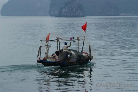 Asia unesco limestone island flag.
