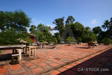 Asia unesco southeast garden tile.