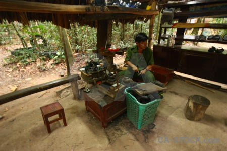 Asia vietnam workshop cu chi tunnels viet cong.