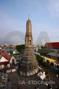 Asia wat arun buddhist thailand person.
