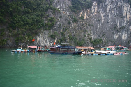 Asia water ha long bay vinh floating.