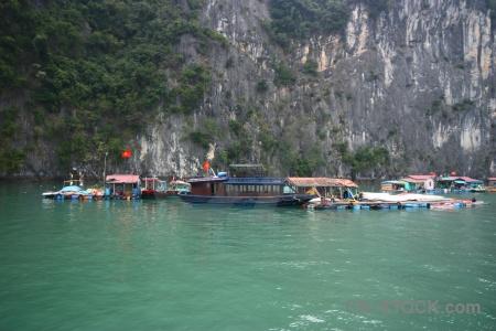 Asia water ha long bay vinh floating.