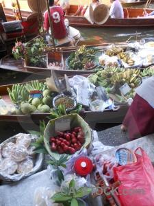 Asia water thailand market damnoen saduak.