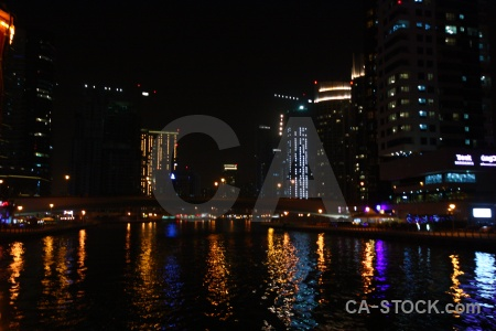 Asia western asia canal light water.
