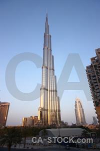 Asia western building burj khalifa middle east.