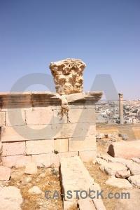 Asia western historic roman stone.
