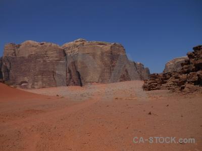 Asia western wadi rum rock sky.
