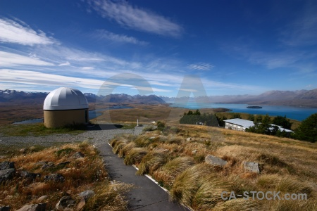 Astronomy new zealand tekapo sky dome.