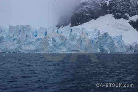 Astudillo glacier ice sky antarctica cruise cloud.