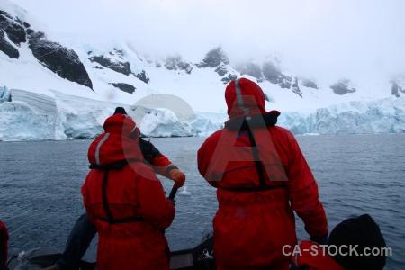 Astudillo glacier south pole water cloud day 9.