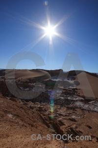 Atacama desert chile sand landscape sky.