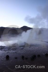 Atacama desert el tatio andes south america geyser.