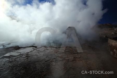 Atacama desert el tatio chile andes sky.
