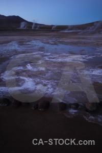 Atacama desert el tatio sky andes steam.