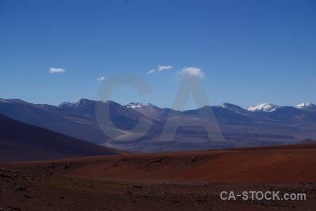 Atacama desert snowcap landscape mountain chile.