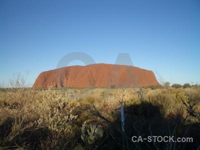 Australia ayers rock cliff uluru.
