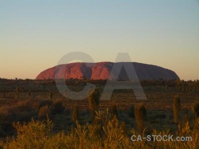 Ayers rock uluru cliff australia.