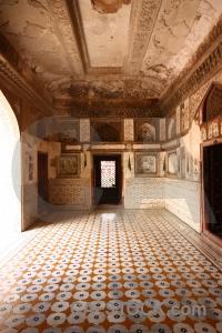 Baby taj inside south asia tomb mausoleum.