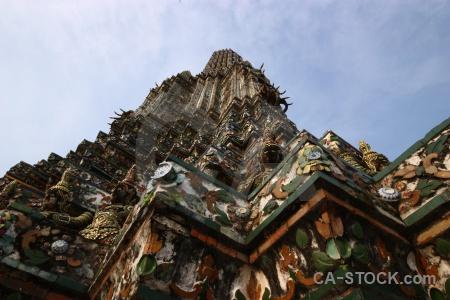 Bangkok buddhism sky yaksha thailand.