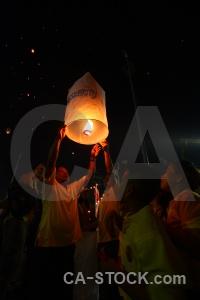 Bangkok lantern person asia thailand.