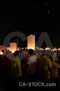 Bangkok lantern southeast asia loi krathong thailand.