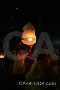 Bangkok light thailand asia festival.
