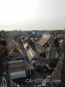 Bangkok ornate asia thailand sky.